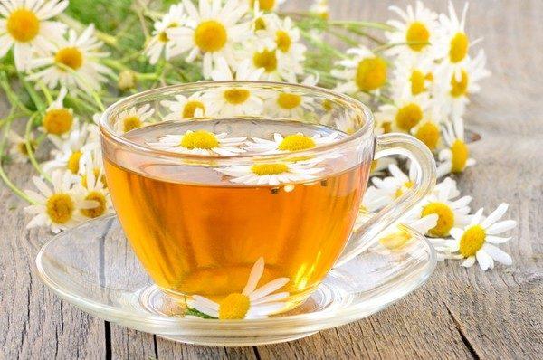 чай с ромашкой,полезные свойства