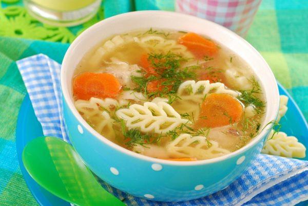 Суп макароны с фото